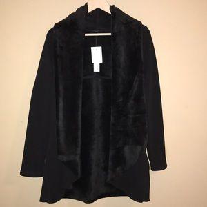 NWT [DREW] Black Soft Cardigan